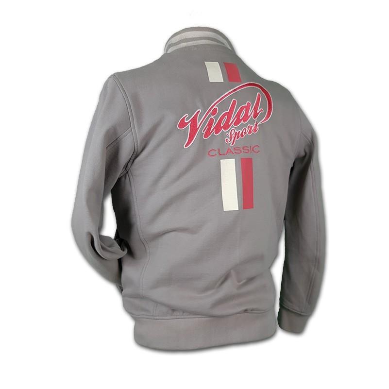 veste classic vidal sport grise