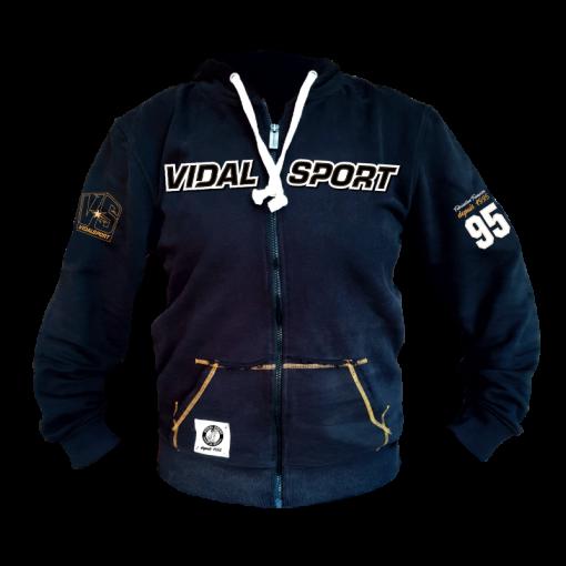 Veste à capuche zippée Vidal Sport...