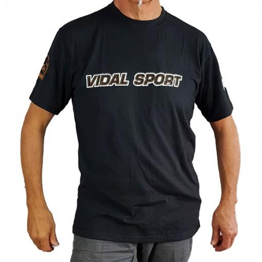 T-shirt vidal sport noir 2021