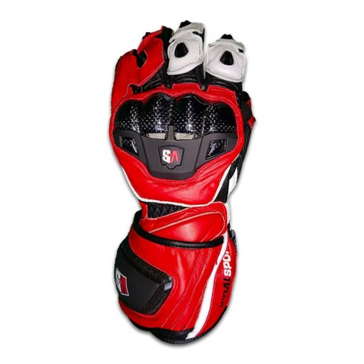 Vidal sport - Gants RS SWIFT CARBON - rouge & blanc
