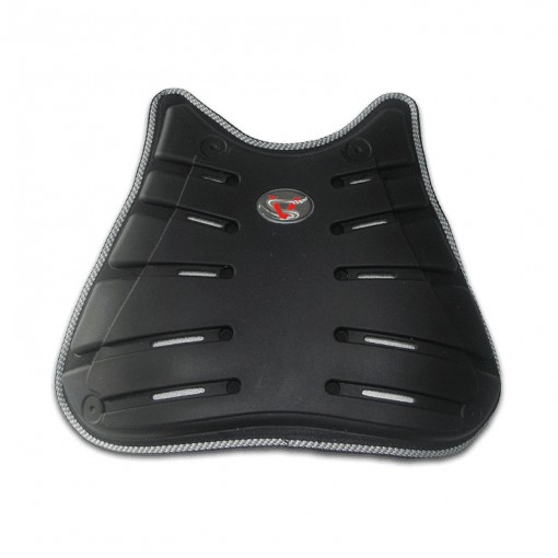 Plastron ventral protection moto